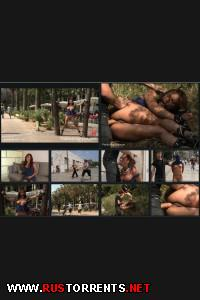 ������:[PublicDisgrace.com / Kink.com] Sara May (Spanish Hottie gets Throat Fucked on the Street Bound in front of a busy cafe! / 13.01.12)