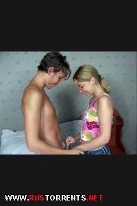 Постер:Брат с другом трахает свою младшую сестричку