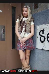 Постер:Домашний секс с молоденькой студенткой Кристиной