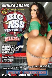 Постер:Приключения больших задниц в Майами