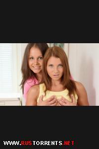 Сумашедшие анальщицы Меган и Лиззи |
