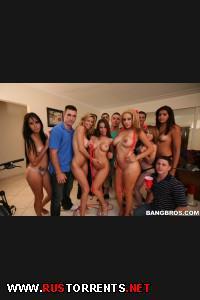 Постер:Rachel Roxxx, Alexis Fawx, Jamie Valentine (Invasion of the BangBros pornstars / 10.08.12)