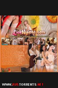 Постер:[LickNylons.com] Нейлоновое Вылизывание (31 ролик)