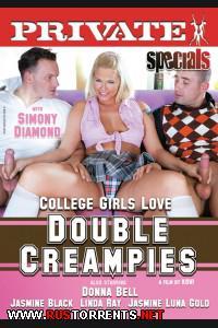 Постер:Студентки Любят Двойные Внутренние Семяизвержения