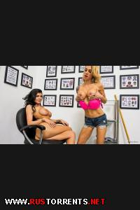 ������:Sarah Jessie & Romi Rain (Kiss My Ass Tat)
