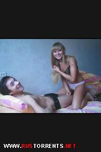 Постер:Красивая пара снимает себя на камеру