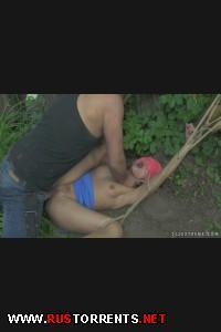 Пошла напрямую через лес и за это жестоко поплатилась! | [DominatedGirls.com / 21sextreme.com] Sophie Lynx (Fatal Shortcut / 28-07-2013)