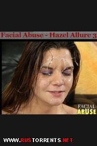 Жёсткий унизительный трах во все дыры! | [Facialabuse.com] Hazel Allure 3 (16-07-2013)