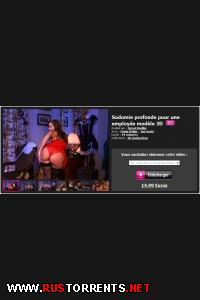 Глубокая содомия для образцовой девушки в 3Д | Sodomie profonde pour une employée modèle 3D