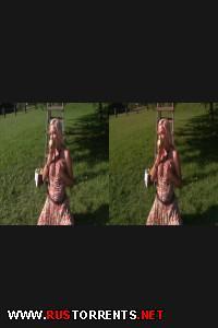 Два фермера обскакивают молодую кобылку в 3Д | enna Lovely 3D - Elle devait monter a cheval mais ... 3D