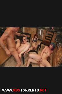 Оргия на кухне | [BurningAngel.com] Proxy Paige, Lucia Hyde & Rizzo (Kitchen Party Orgy / 16-10-2013)