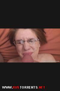 Тёлочку отодрали и кончили ей на очки! | [ExploitedTeens.com] 06-12-2013