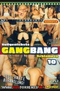 Обконченные в групповухе шлюхи #10 | Vollgewichste Gangbang Schlampen #10