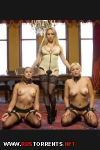 Aiden Starr, Jenna Ivory, Rose Red  | Double Penetration Anal Slave