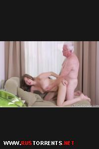Дедок дерёт молодую девку! | [OldGoesYoung.com] Rita (18-08-2014)
