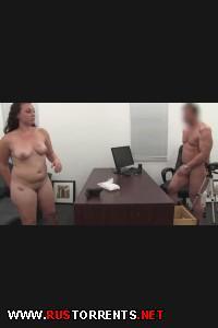 19-ти летняя Шерри впервые отсасывает и трахается на камеру! | [BackroomCastingCouch.com] Sherry (22-09-2014)