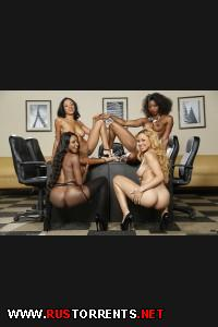 ������������ ������� | Office 4-Play VII: Ebony Babes