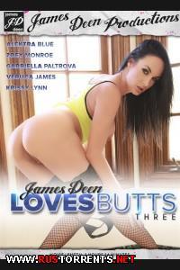 Любимые попки James Deen 3 | James Deen Loves Butts 3