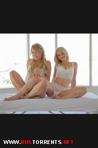 ��� �������� ����� �� ����� | Two Cock Hungry Sluts  Aubrey Gold & Abby Paradise