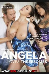Анжела Любит Секс Втроем | Angela Loves Threesomes