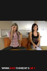 Продолжение жесткого кастинга двух прелестных девчонок | Tina Walker, Gina Gerson (Tina Walker and Gina Gerson - Hard - Dped by 2 men Part 2)