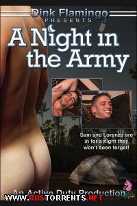Постер: Ночью в Казарме