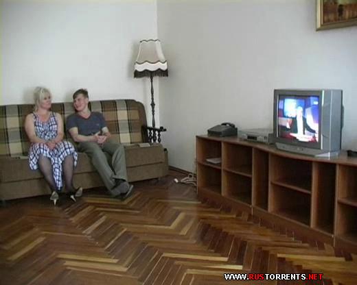 Скриншот 1:Тётя Лена и Алёша смотрели телевизор