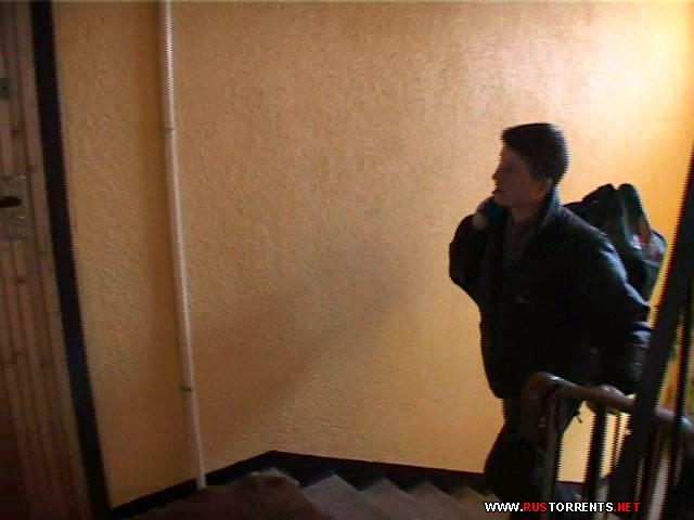 Скриншот 1:Русский инцест. Рима с прыщавым сынком в коридоре