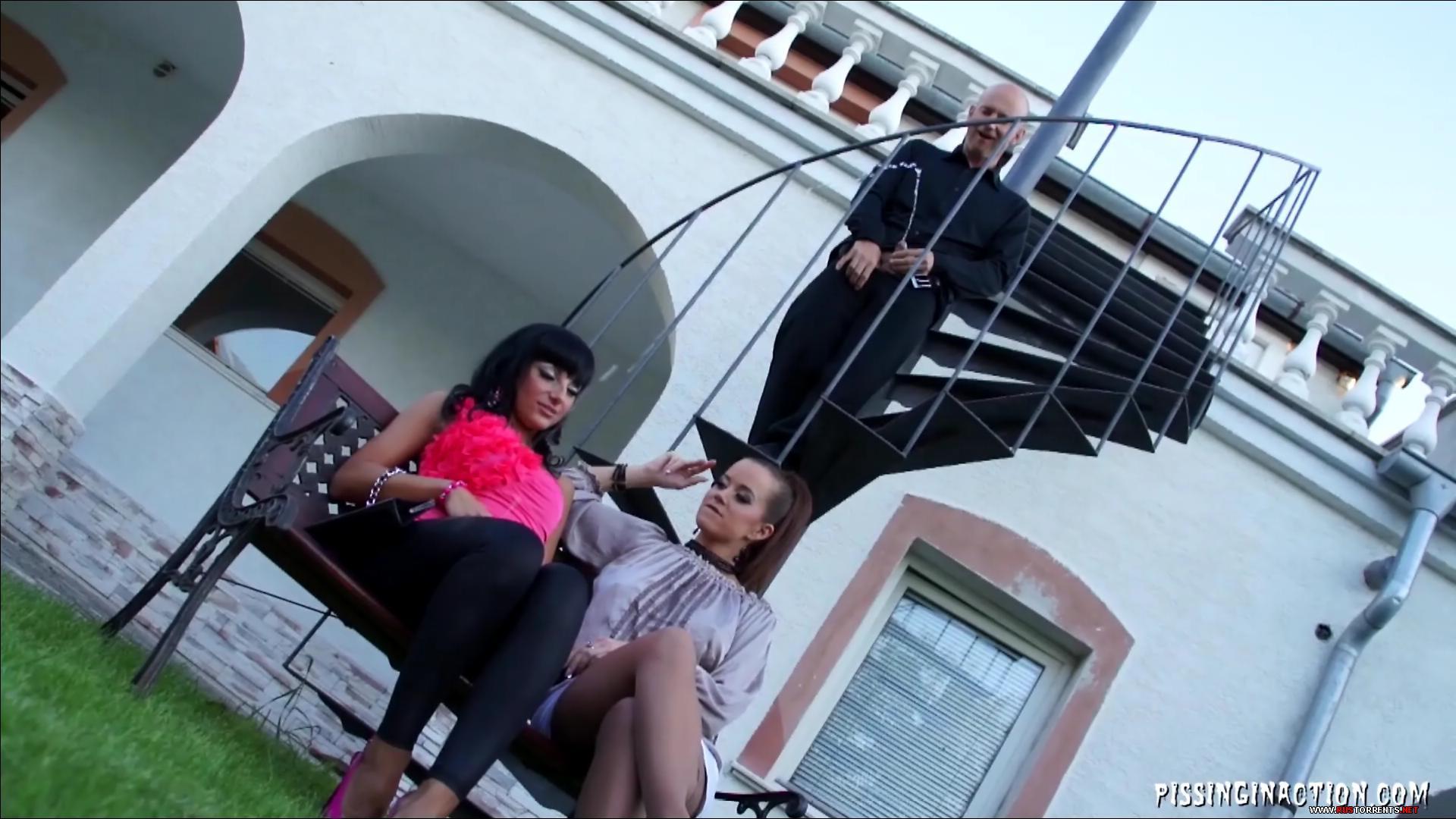 Скриншот 1:Cindy Dollar & Veronica Diamond. Они любят золотой ливень