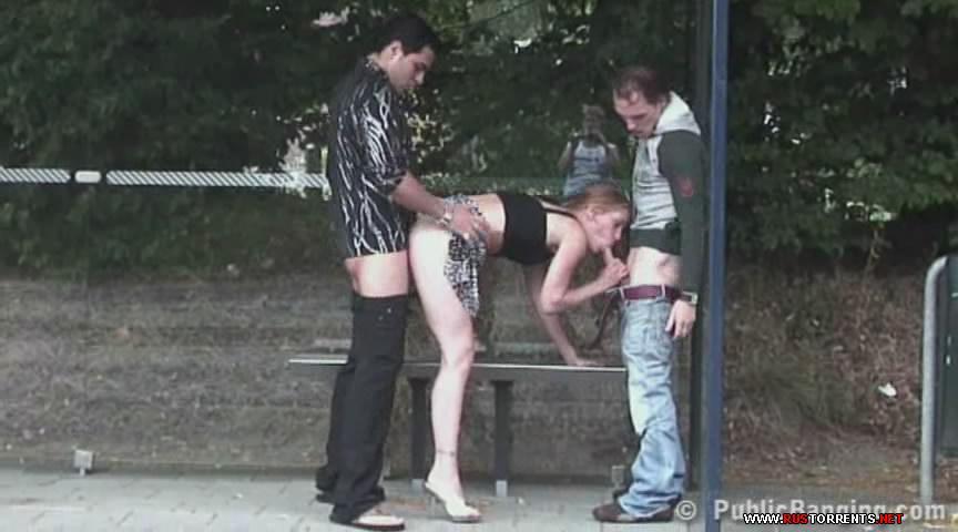 Скриншот 3:Секс втроем в ожидании автобуса