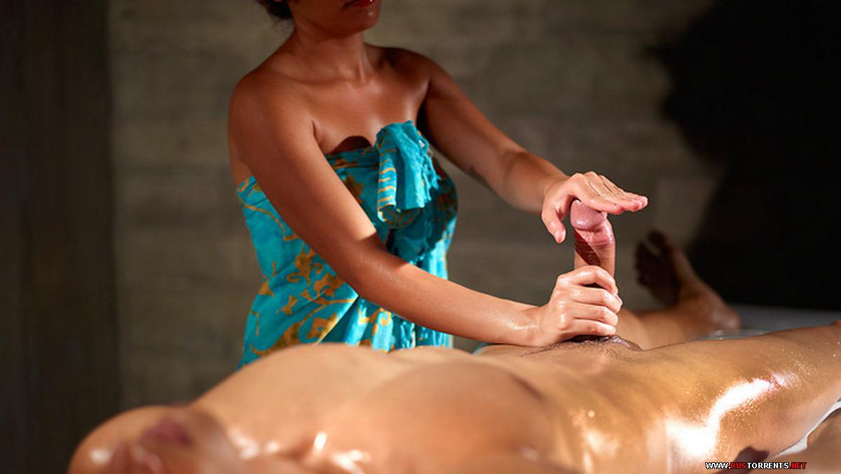 массаж полового члена в салоне порно видео