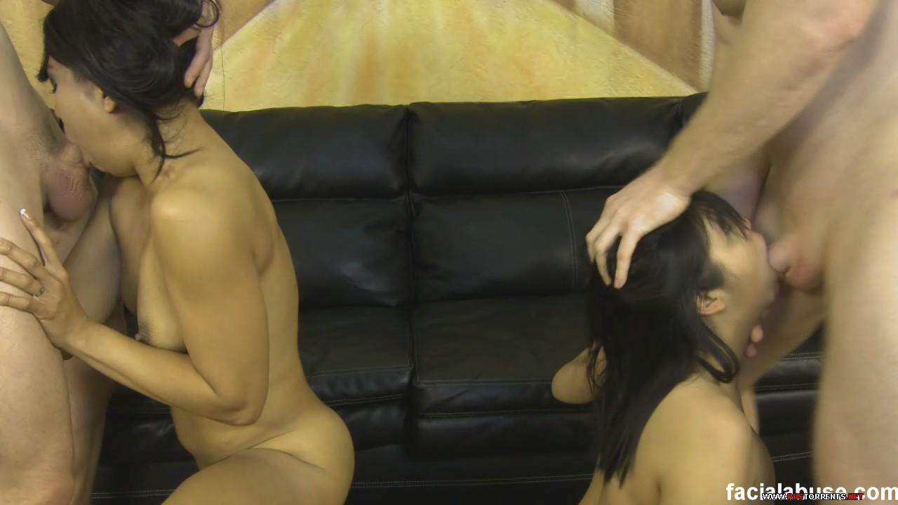 Скриншот 1:FacialAbuse.com - 160 - Mika Tan and Max Mikita