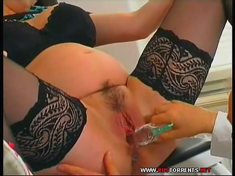 Скриншот 1:Беременная красавица осмотренна и оттрахана в кабинете гинеколога